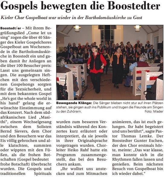 holsteiner courier boostedt 2009